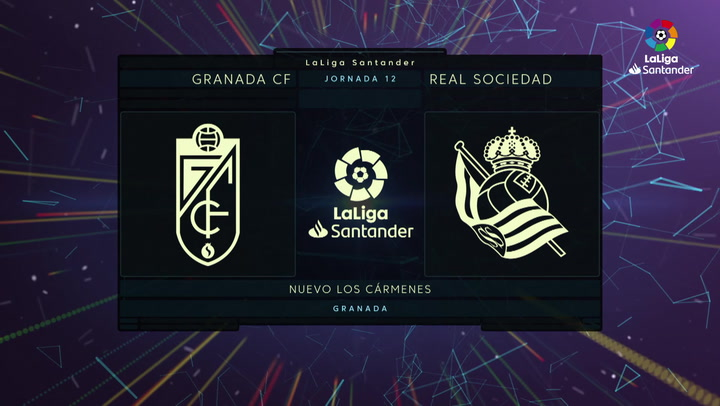 LaLiga (J12): Resumen y goles del Granada 1-2 Real Sociedad