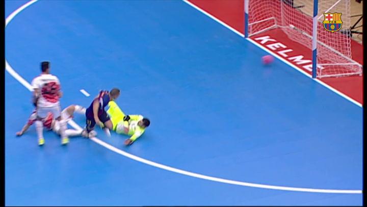 Resumen de la final de la Copa de España: ElPozo Murcia (1) - (2) Barça Lassa