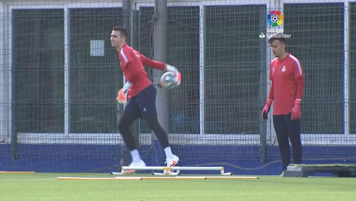 El Espanyol retoma los entrenamientos