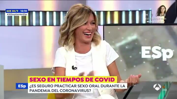 Atrevido comentario de Susanna Griso sobre el sexo oral en época de coronavirus