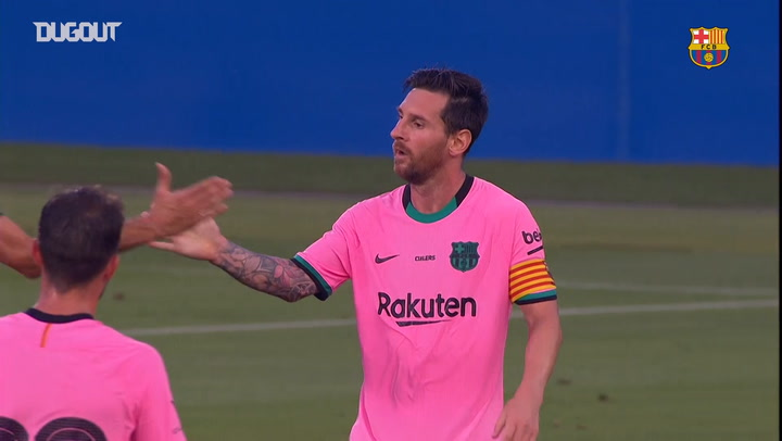 Messi's brace for Barcelona against Girona