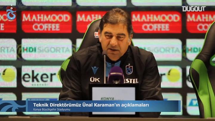 Ünal Karaman'ın Konyaspor Galibiyeti Sonrası Açıklamaları