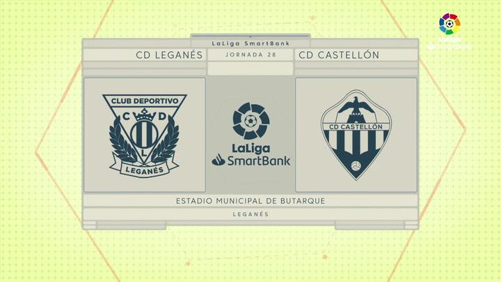 LaLiga SmartBank (J28): Resumen del Leganés 0-0 Castellón