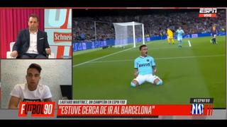 Lautaro Martínez habla de su fichaje caído con el Barcelona y por qué rechazó dos veces al Real Madrid