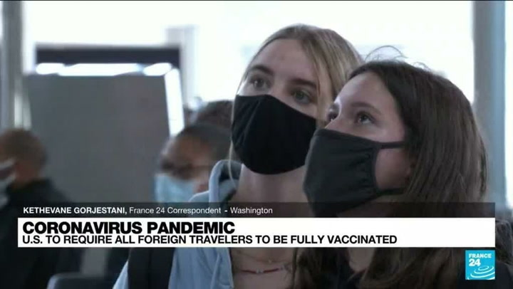 Why is the US moving to end travel bans for vaccinated passengers now?