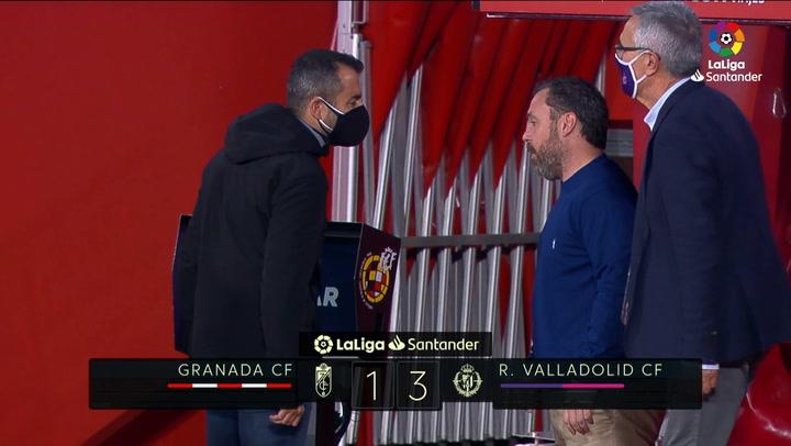 LaLiga (J10): Resumen y goles del Granada 1-3 Valladolid
