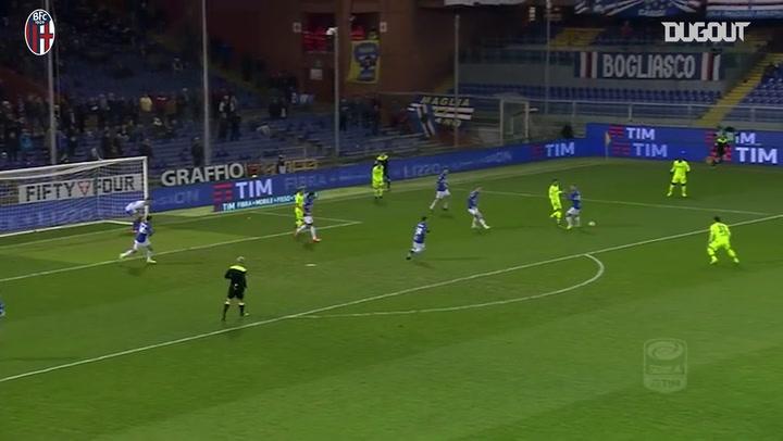 Blerim Džemaili'nin Sampdoria'ya Attığı Gol