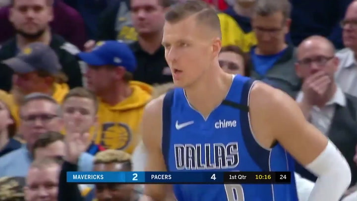 Kristaps Porzingis (Mavericks), el más destacado de la jornada de la NBA del 3 de febrero 2020