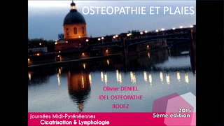 Ostéopathie et plaie