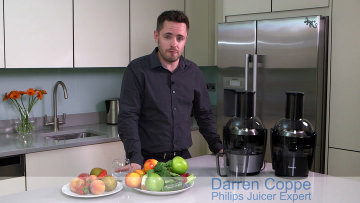 Preview image of Philips Viva 400w Black Juicer How To Use The Juic video