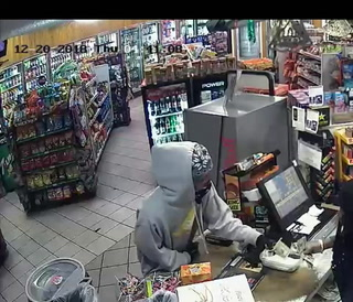 Police release video of suspect in armed robbery