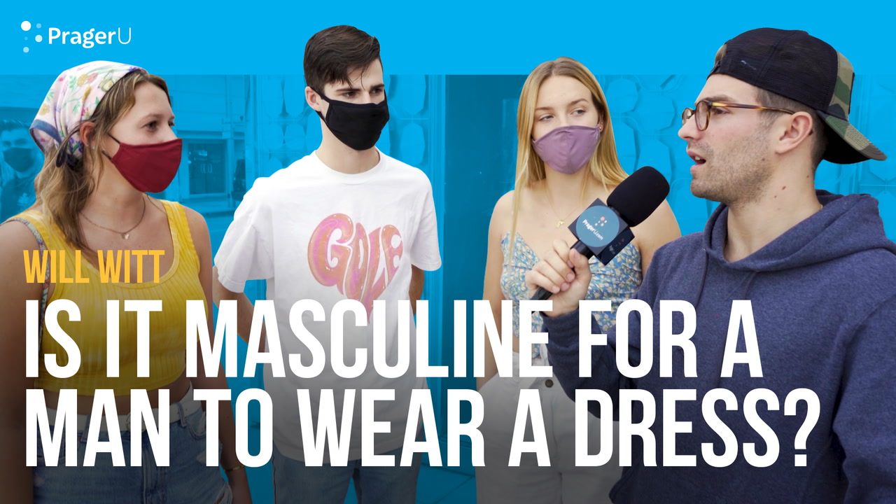 Is It Masculine for a Man to Wear a Dress?