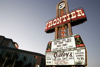 Timeline of Former New Frontier Site