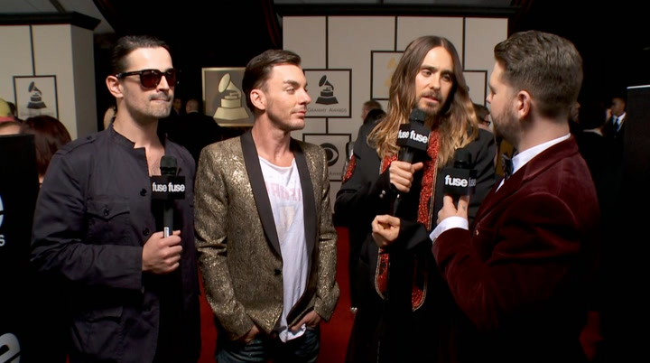 "Shows: Grammmys 2014: 30 Seconds to Mars Ready for ""Any Insanity That Happens"" Tonight"