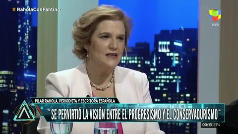 Pilar Rahola: Cristina Kirchner es más reaccionaria que Macri