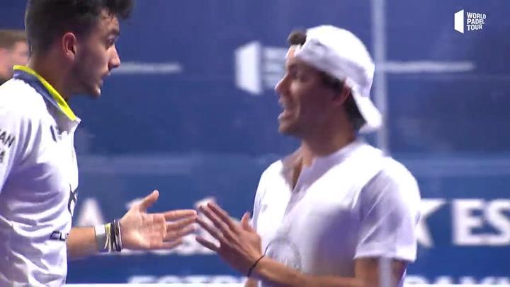 Resumen de la Final masculina Galán - Lebrón Vs Stupa - Ruiz en el Estrella Damm Alicante Open