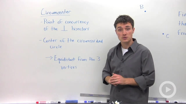 Constructing the Circumcenter - Problem 1