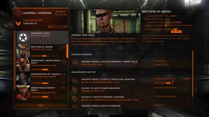Elite Dangerous Lore: Trader