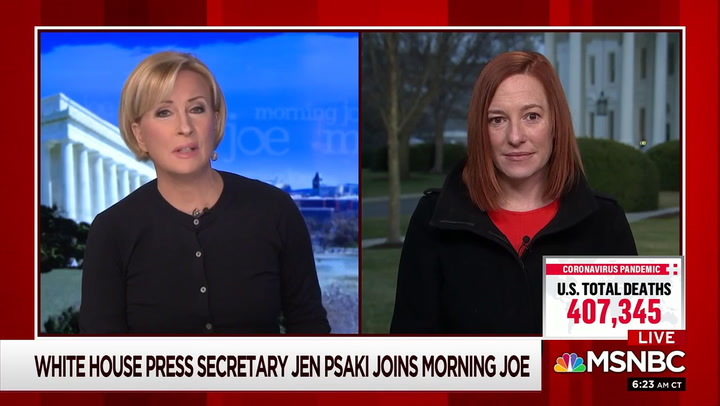 Psaki on Biden Administration: 'We Want to Bring Transparency Back'
