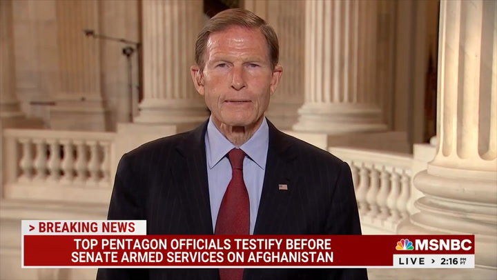 Dem Sen. Blumenthal: 'We Know More' about Allies Still in Afghanistan Than 'Many' of Those We Already Evacuated