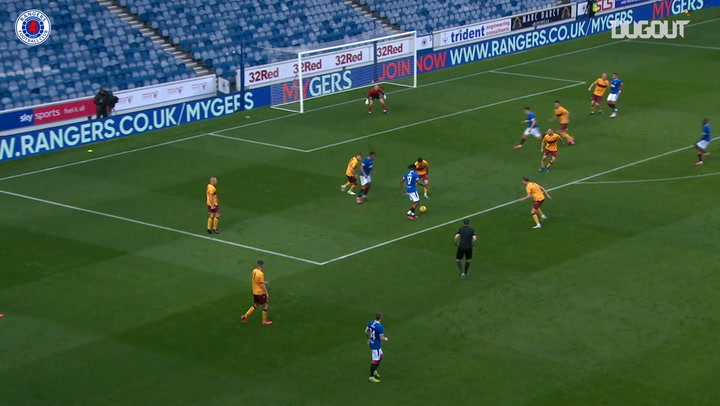 Joe Aribo rounds off superb team goal vs Motherwell