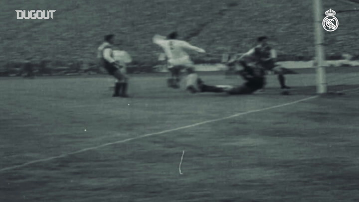 Di Stéfano's skills as a Real Madrid Player