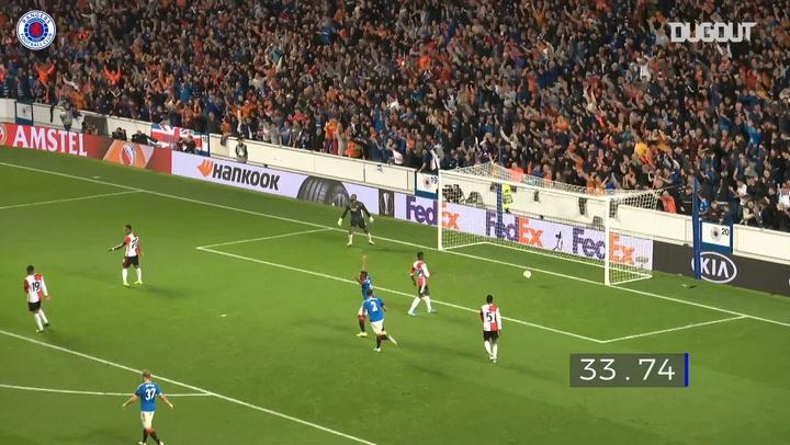 Rangers' best Europa League goals from 2019-20