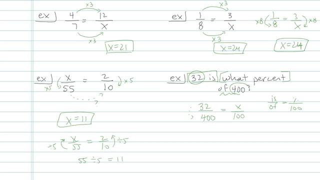 Proportions - Problem 5