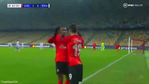 Shakhtar Donetsk 2-0 Real Madrid (Champions League)