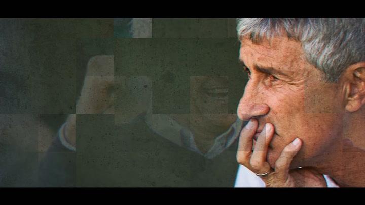 Johan Cruyff, un referente para Quique Setién