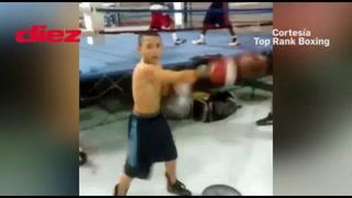 Los inéditos videos de Teofimo López de niño publicados por Top Rank