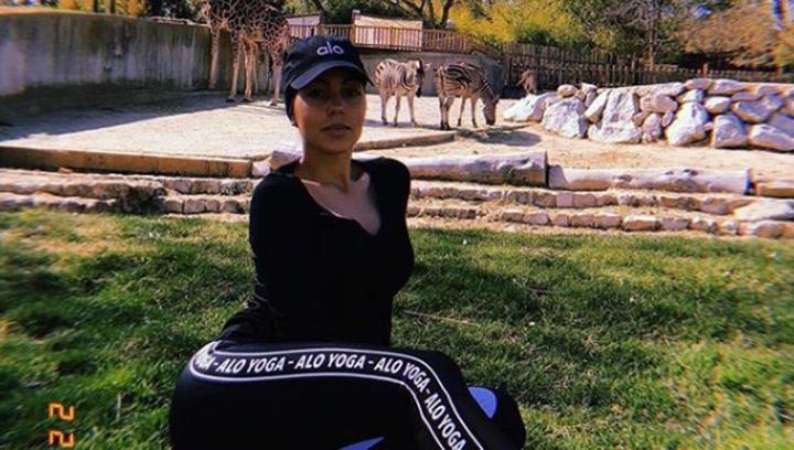 Georgina Rodríguez vuelve al zoo junto a su familia