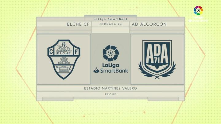 LaLiga SmartBank (J24): Resumen y goles del Elche 1-1 Alcorcón