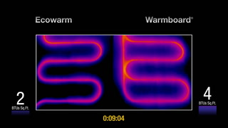 Warmboard Radiant Heating Comparison