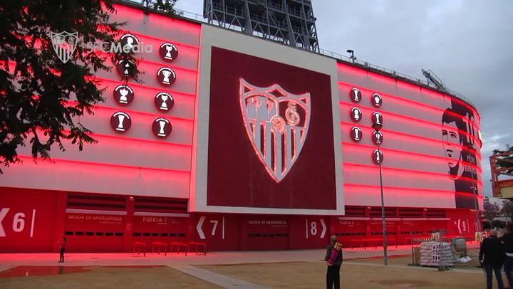 El Sevilla recrea la final de Eindhoven en el Sánchez Pizjuán