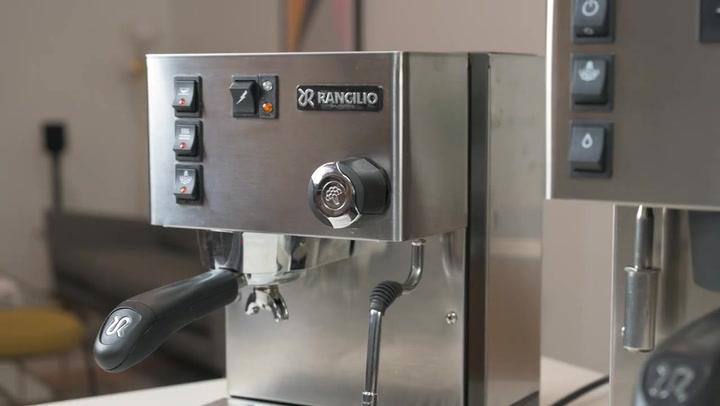 Preview image of Rancilio Silvia Pro 1300W Manual Espresso Machine video