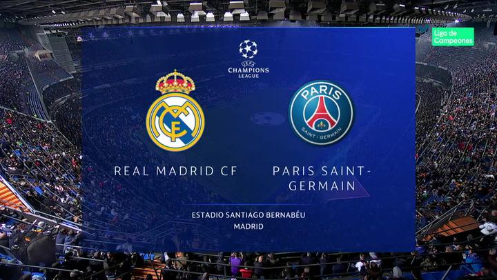 Champions League: Resumen y Goles del Real Madrid - PSG