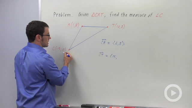 The Angle Between Vectors - Problem 3