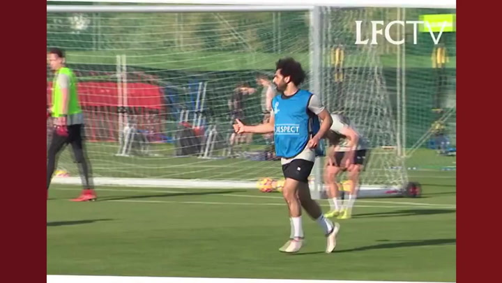 Salah's stunning goals in training  ⚽