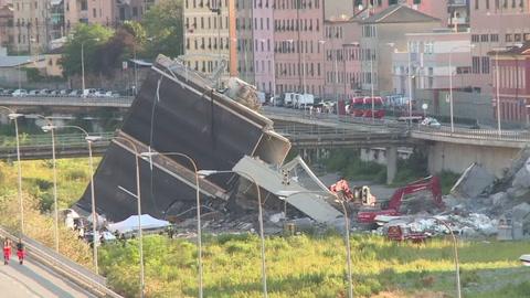 Italia busca responsables por el derrumbe del puente en Génova