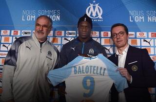 Mario Balotelli deja al Niza y firma con el Olympique de Marsella