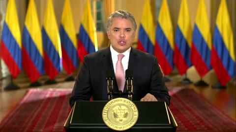 Duque denuncia nexos de Maduro con narcotráfico y terrorismo ante la ONU