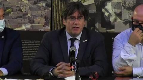 Puigdemont volverá a Bruselas pero promete regresar a Italia por audiencia de extradición