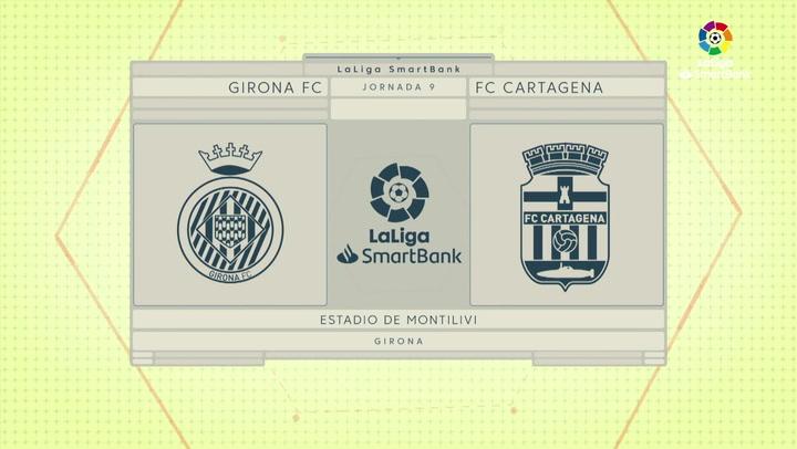 LaLiga Smartbank (Jornada 9): Girona 2-1 Cartagena