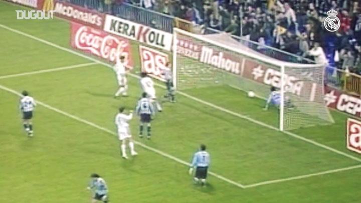 Golaço de Seedorf pelo Real Madrid