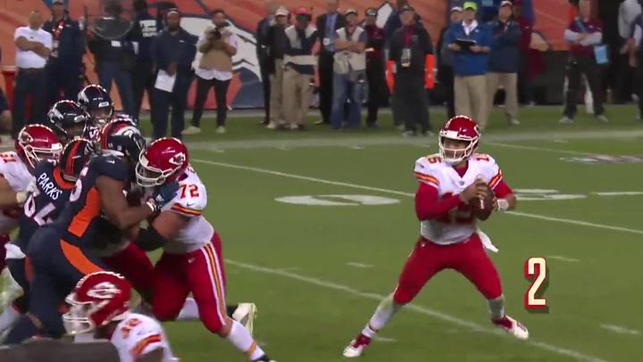 Super Bowl 2020: Los mejores lanzamientos del quaterback Patrick Mahomes (Kansas City Chiefs)