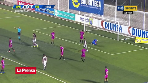 UPN 1 - 1 Vida (Liga Nacional de Honduras)