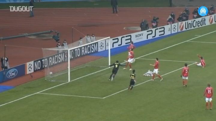 Loic Rémy's lucky goal vs Spartak Moscow
