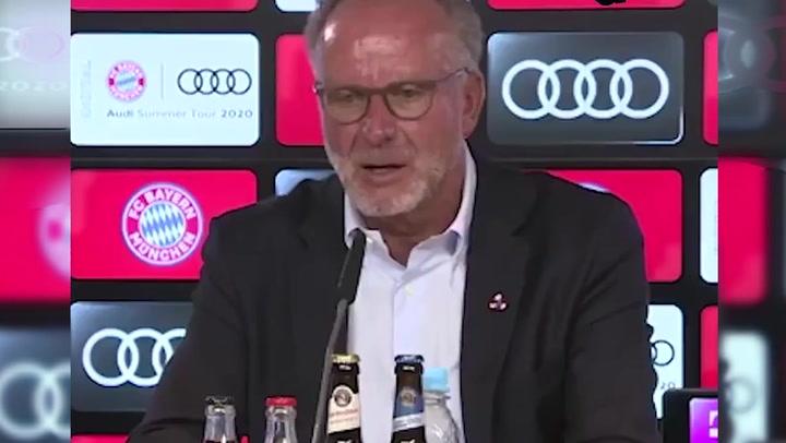 Rummenigge crée que Lewandowski debía ganar el Balón de Oro por delante de Messi