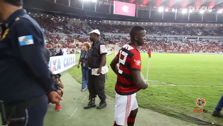 Vinicius Jr's farewell speech